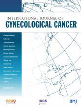 International Journal of Gynecologic Cancer: 31 (9)